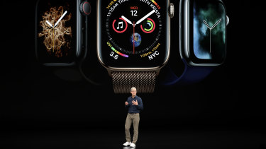 Apple CEO Tim Cook discusses the new Apple Watch 4 which stole the show last week.
