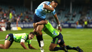 Drought-breaker: the Waratahs broke the drought against New Zealand teams by beating the Highlanders in Sydney at the weekend.