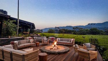 The One&Only Nyungwe House near Lake Kivu, Rwanda.