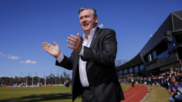 The AFL has a long history of high-profile names in top roles at clubs, such as Eddie McGuire at Collingwood.