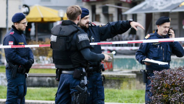 Vienna is on edge after a shooting in the city.