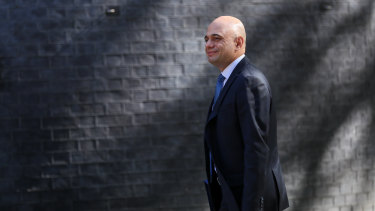 Home secretary Sajid Javid.
