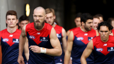 No rest for the Demons: Simon Goodwin says his team has prepared to play many games in a shorter period of time.