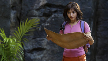 Isabela Moner stars as Dora the Explorer.