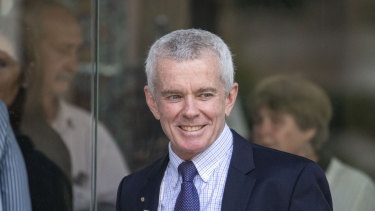 """Former One Nation senator Malcolm Roberts said """"government"""" needed to be changed before immigration."""