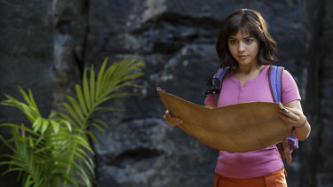 Isabela Moner stars as Dora the Explorer.