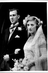 John Clunies-Ross and Daphne Holmes Parkinson married in London in 1951.