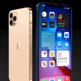 Speculative renders of an iPhone 12 Pro and iPhone 12 Pro Max, based on leaks, by designer Michael Ma.