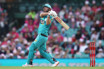 Chris Lynn is under scrutiny due to his actions on Saturday night.