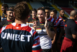 James Maloney has loved what he has seen of his former Penrith teammates.