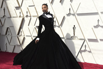 Scene stealer ... Billy Porter at last year's Oscars.
