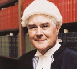 Henric Nicholas in his chambers  in Sydney circa 2002.