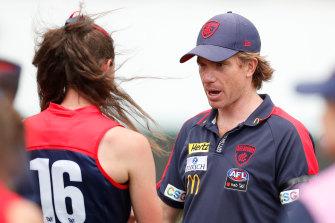Melbourne coach Mick Stinear.