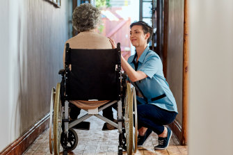 Vocational training certificates for aged care are under review and being overhauled.
