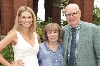 Rachel Taylor, Jeanne Pratt and Ken Mackenzie-Forbes of The Production Company.