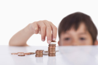 I want to teach my children to be good savers.