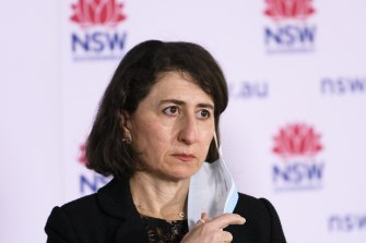 NSW Premier Gladys Berejiklian declined to meet with the mayors of Sydney's worst COVID-19 affected areas.