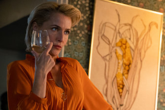 Gillian Anderson stars as Jean in Sex Education.