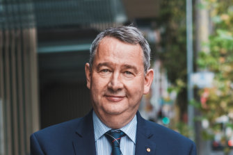 Outgoing Australian Catholic University vice-chancellor Greg Craven.