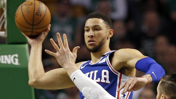 Simmons named on NBA All-Rookie first team