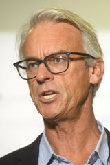 Pressure: FFA CEO David Gallop.