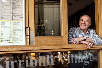 Peter Bignasca, owner of Kirribilli Village Cafe, has welcomed the change to Uber Eats contracts.