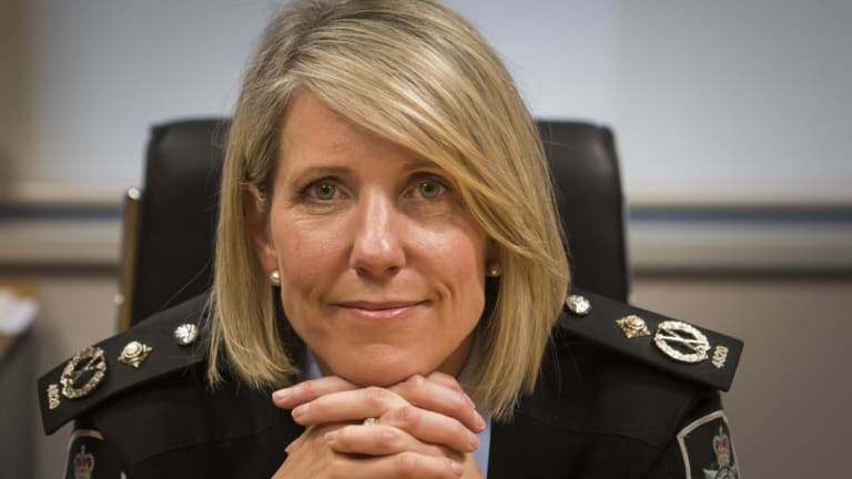 Outgoing Assistant Commissioner, Justine Saunders, will take a new job with the Australian Border Force.