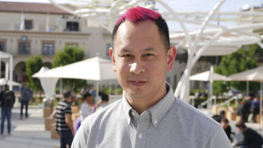 Game designer Ken Wong at Apple's WWDC this week.