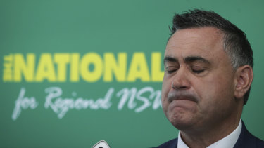 "NSW Deputy Premier John Barilaro said his federal colleagues should ""just shut up""."