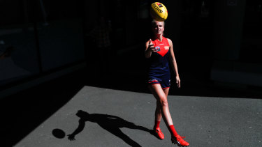 Sloane is eyeing up a regular spot in the Demons' back line.