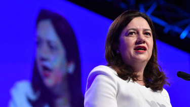Queensland Premier Annastacia Palaszczuk says she will believe the Adani project is going ahead when she sees it.