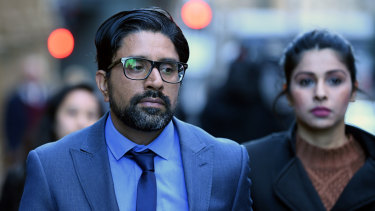 Kulwinder Singh is on trial accused of his wife's murder.