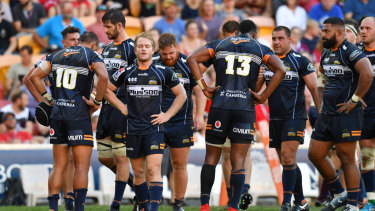 The Brumbies have struggled to keep pace in the second half of games this year.