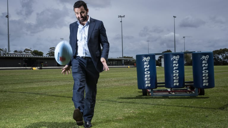 In charge: Andrew Hore has worked hard to re-cast the Waratahs as a down-to-earth team.