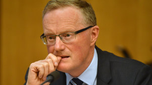 RBA governor Philip Lowe thinks mortgage holders are using their money to pay down their house debts.