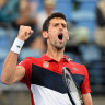 Novak's love affair with Australia showing no signs of slowing down