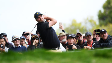 Marc Leishman's struggles started before he arrived at the first tee.