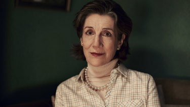 English actor Harriet Walter stars in the Australian television drama The End.