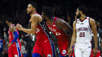 Don't be shy, Ben – shoot! How Simmons' jump shot could lift 76ers