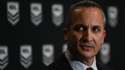 NRL won't follow AFL in mandating vaccination for players, staff: Abdo