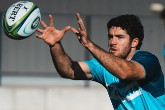Ben Donaldson was one of the Waratahs' standouts in their 31-30 loss to the Force.