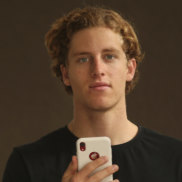Oliver Bowman who has invented an app to help prevent neck and shoulder pain.