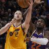 Ingles lends a hand as Jazz thrash Suns