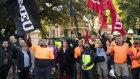 The CFMEU has placed a green ban on the historic Parramatta buildings.