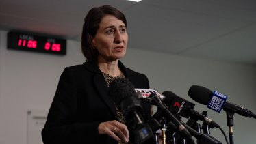 """Enough is enough:"" Premier Gladys Berejikian is expecting all states and territories to pay up for hotel quarantine."