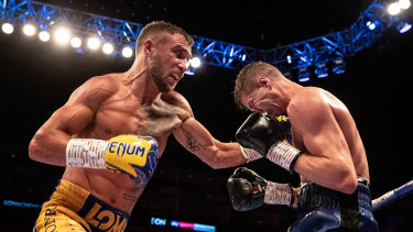 Vasyl Lomachenko, left, is considered one of the best pound-for-pound fighters in the world.