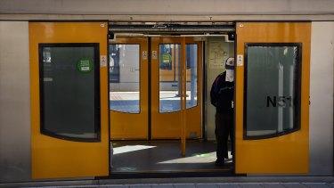 Mask use on Sydney's public transport is starting to go backwards.