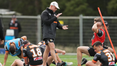 Task master: Michael Maguire is known for pushing his players hard.
