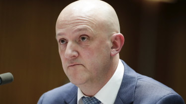 ASIO boss Mike Burgess says he will be writing to all federal MPs.