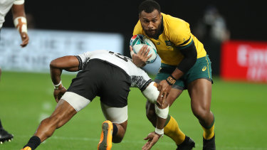 Shock switch? Samu Kerevi could be contemplating a crack at sevens.